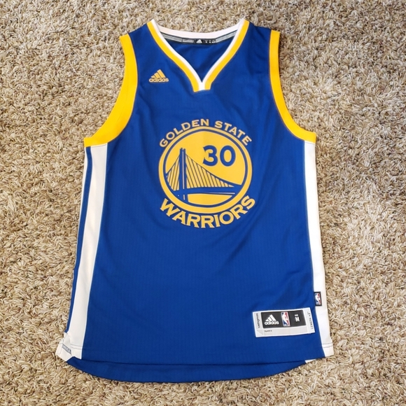 Adidas Golden State Warriors Stephen Curry Jersey